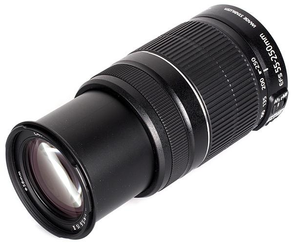 CANON 55-250MM LENS, ZOOM