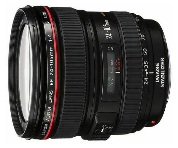 CANON 24-105MM LENS, WIDE AND ZOOM