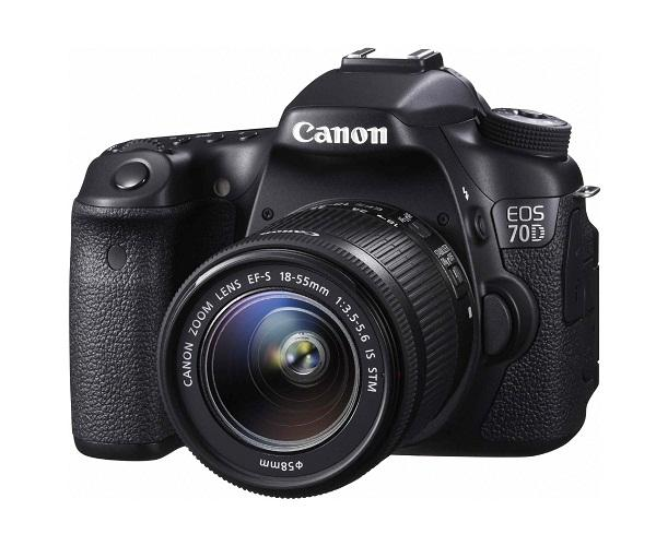 CANON 70D 20MP Camera  On Rent