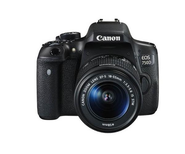 Canon 750 D Camera On Rent