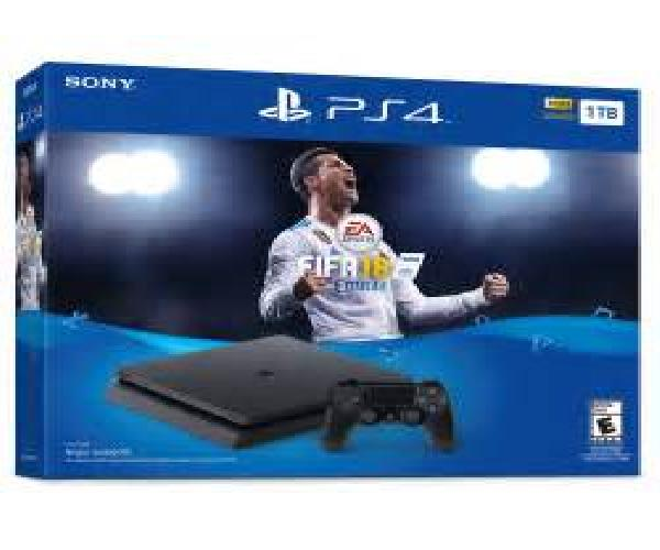 PS4 WITH FIFA 18 Bundle