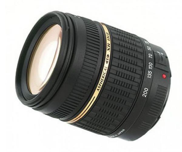 Tamron 18-200 mm lens on rent