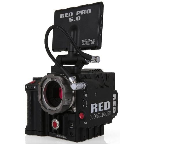 Red Dragon 6k Camera Kit With CP3 Lens