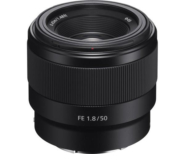 Sony 50mm F-1.8 Lens On Rent
